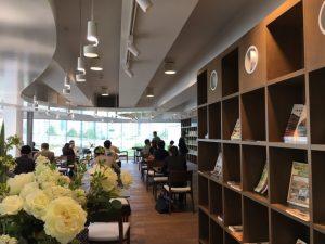カフェテリア「カフェ・ラポール中央図書館」2016.10.8OPEN